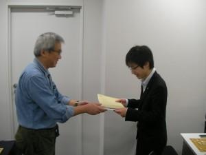 京将棋大会第2回フェスト王戦表彰式1